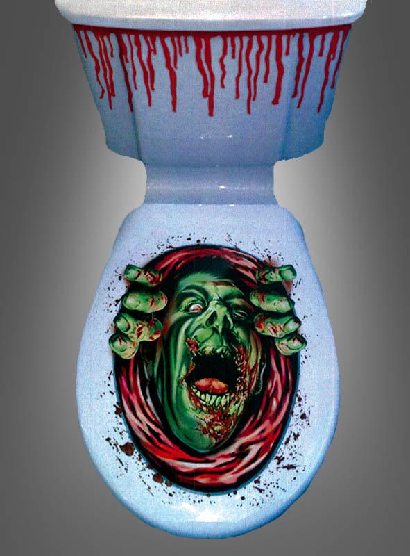 Halloween Toilet Decoration