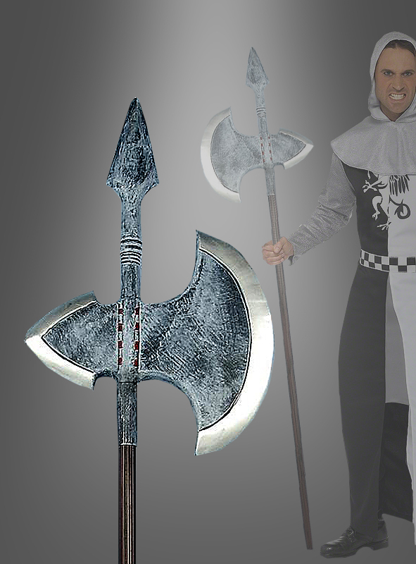 Giant axe halberd