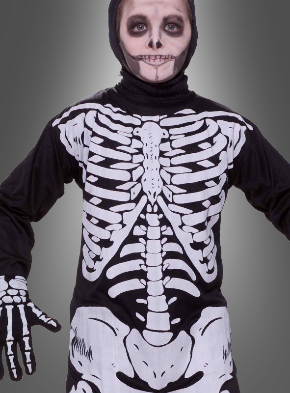 Halloween Skelett Kinderkostüm