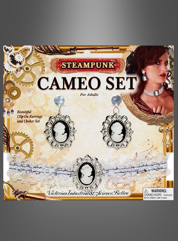 Steampunk Schmuck Cameo