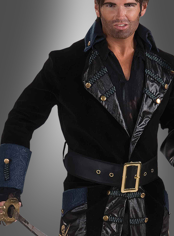 Blackbeard Deluxe Pirate Costume