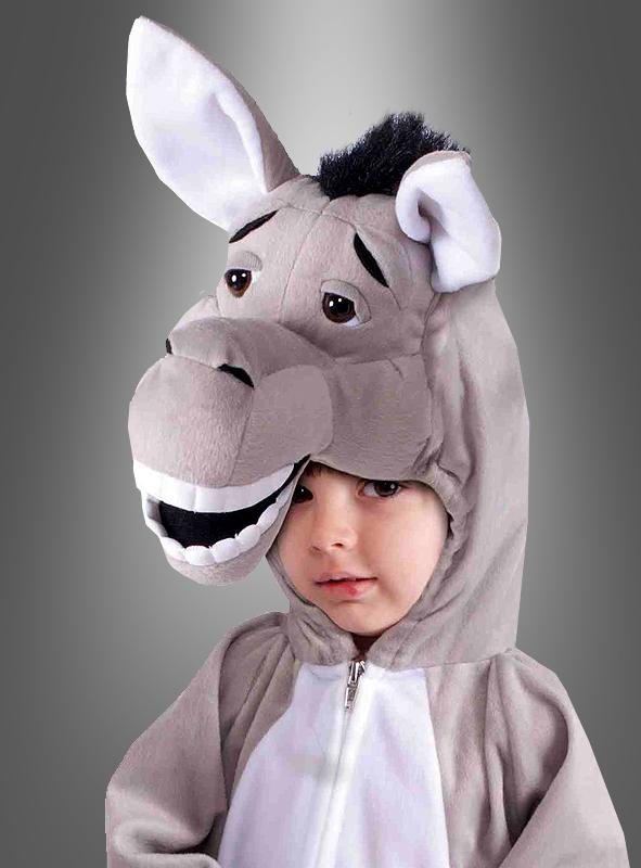 Donkey plush costume