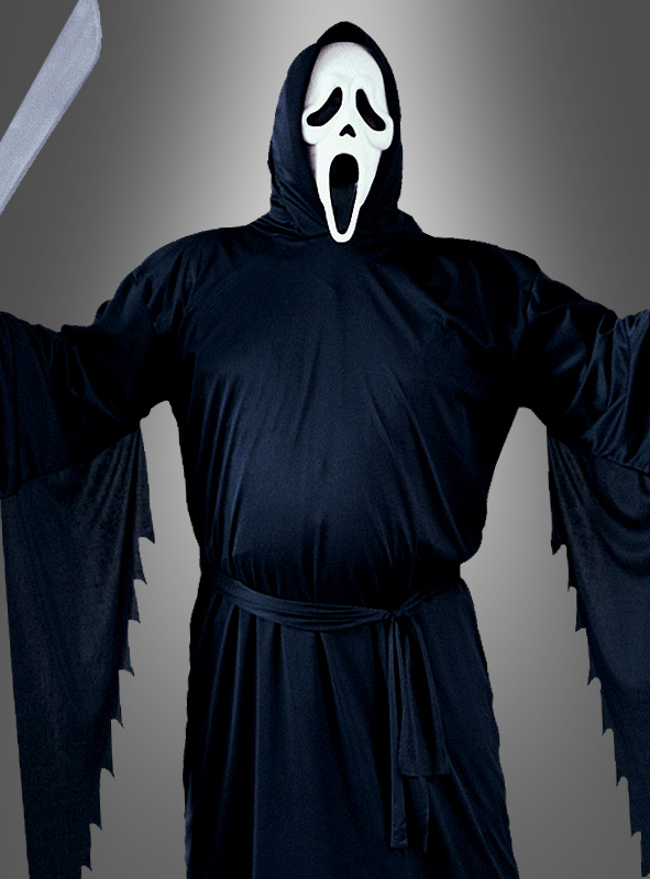 Plus Size Scream 4 Ghost Face costume