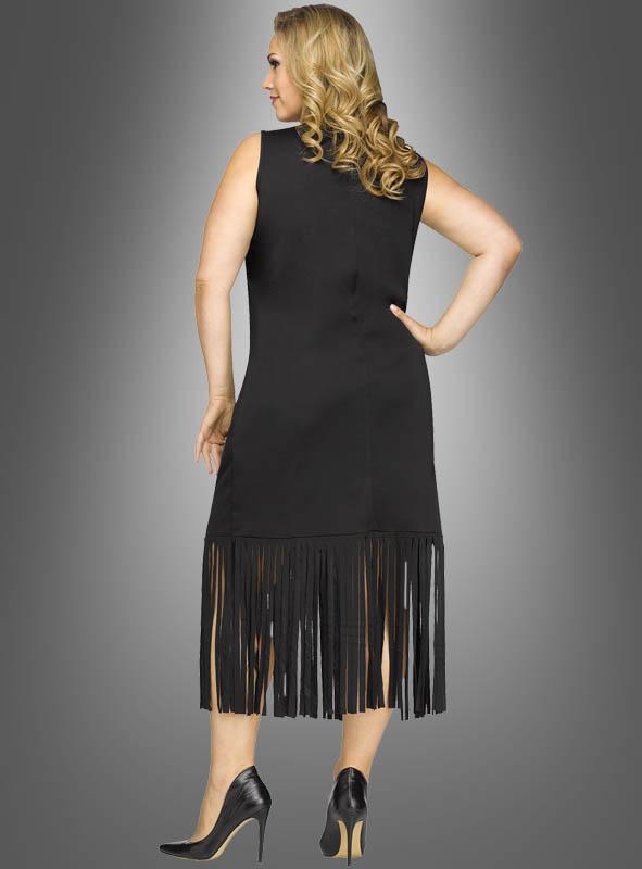 b7de19f7499 Fringe Dress Black Plus Size » Kostümpalast.de