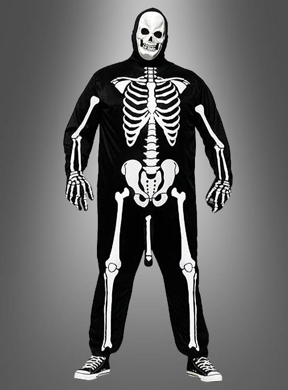 Skeleton with Penis Funny Costume