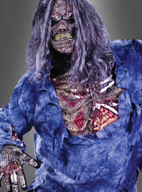 3-D Horror Kostüm Zombie Übergröße