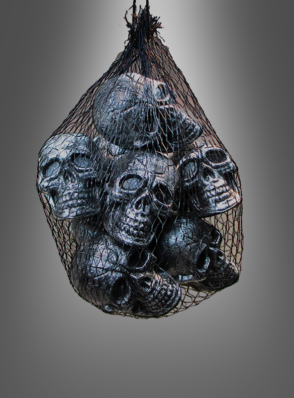 Bag of Skull Heads 12 pcs