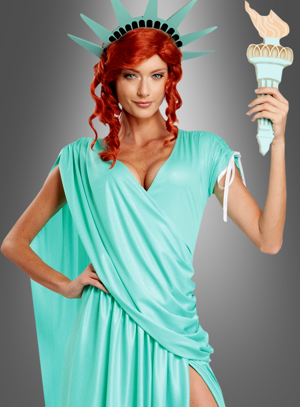 Lady Liberty costume deluxe