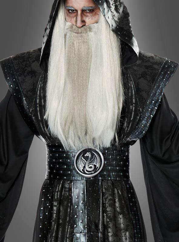 Schwarzer Magier Kostüm für Herren