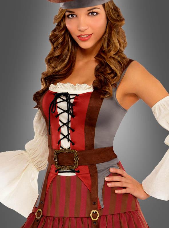 Carribbean Pirate Elisabeth Costume