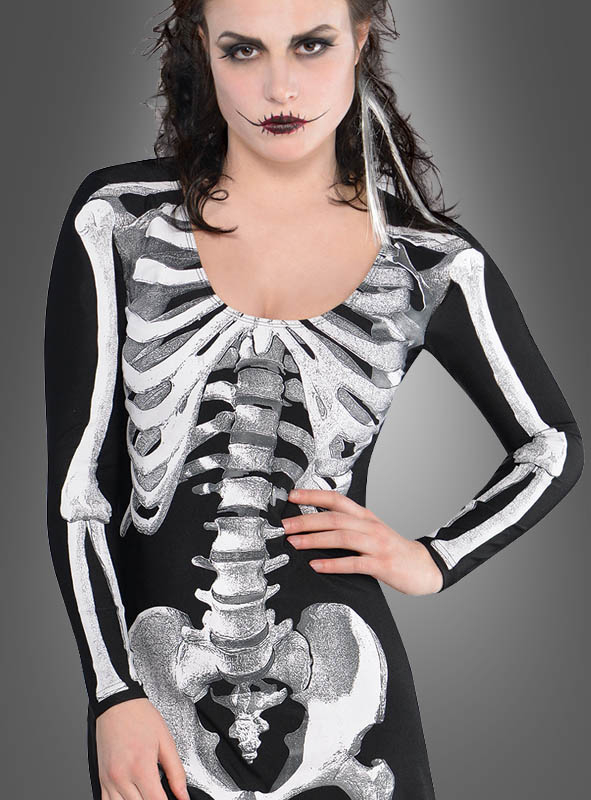 Bare Bones Skeleton Costume Adult