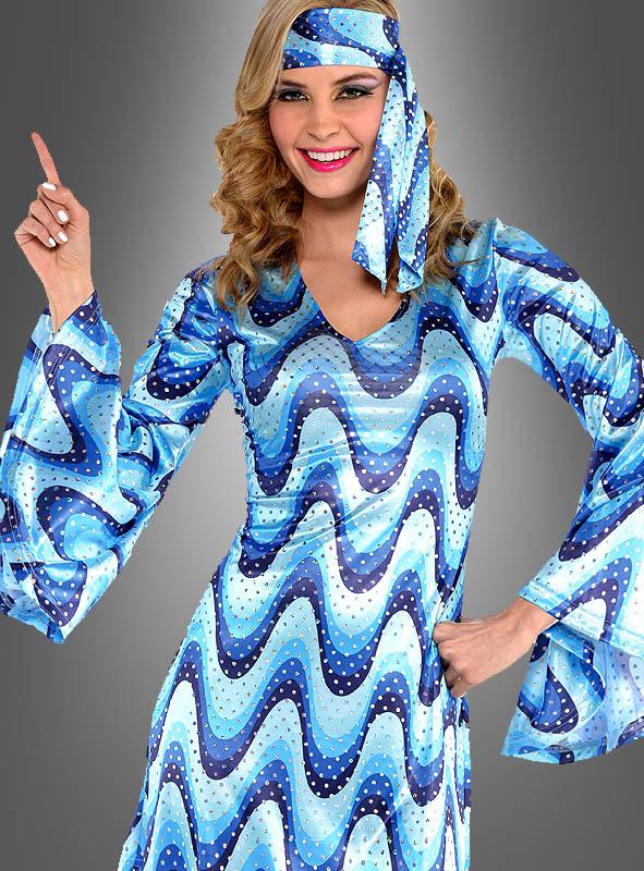 Paillettenkleid Disco Lady Bluebird