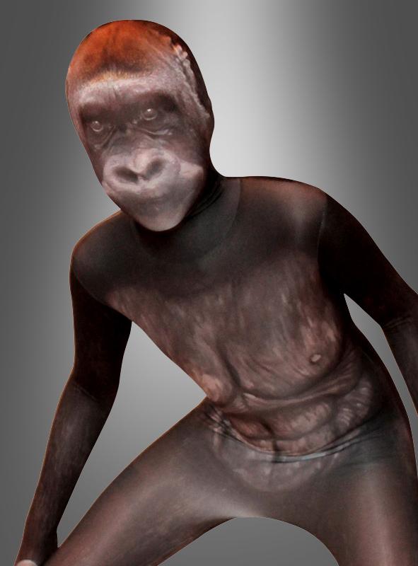 Morphsuit Silberrücken Gorilla