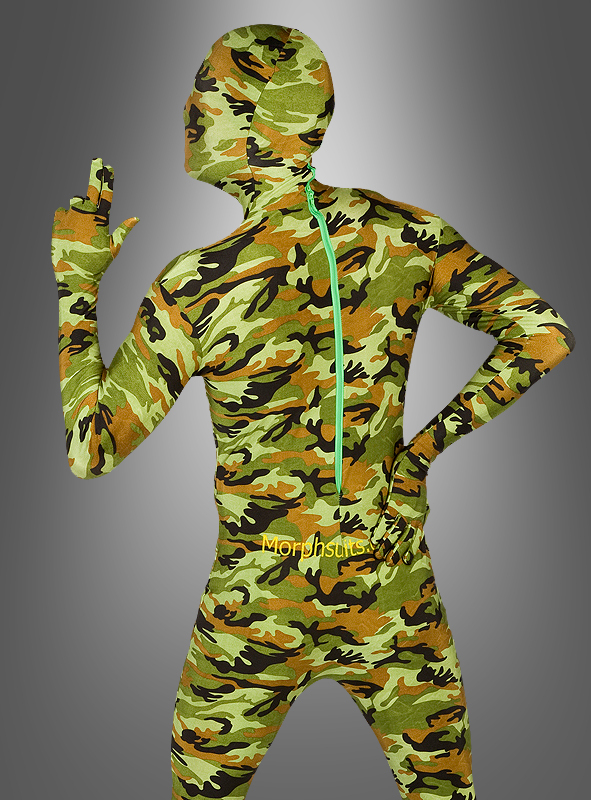 Morphsuits Flecktarn second Skin
