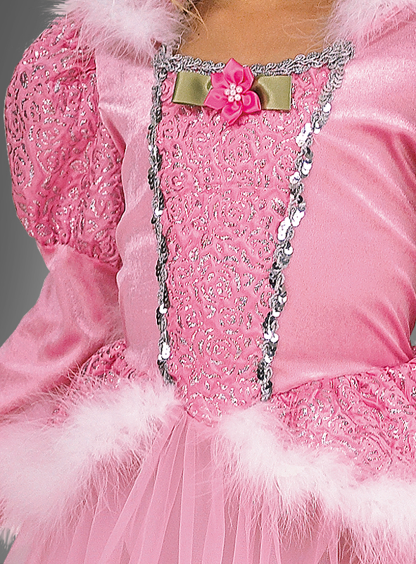 Deluxe Rose Princess Children Costume