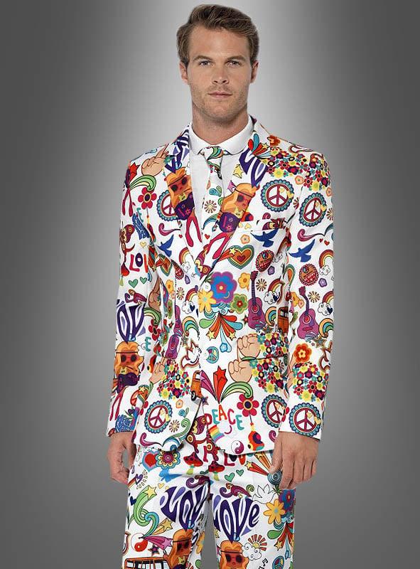 Bunter Anzug Hippie Style