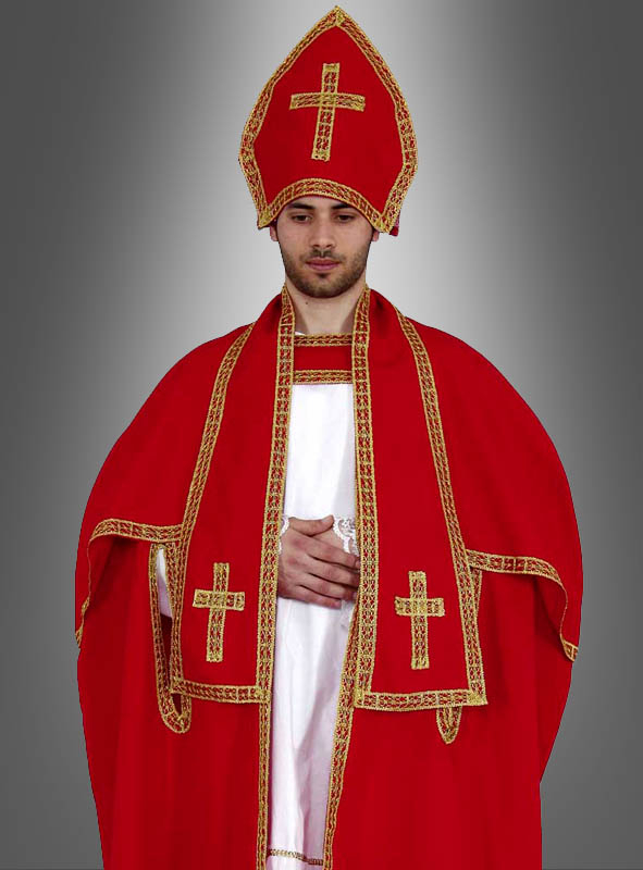 Red Pope Costume for Men