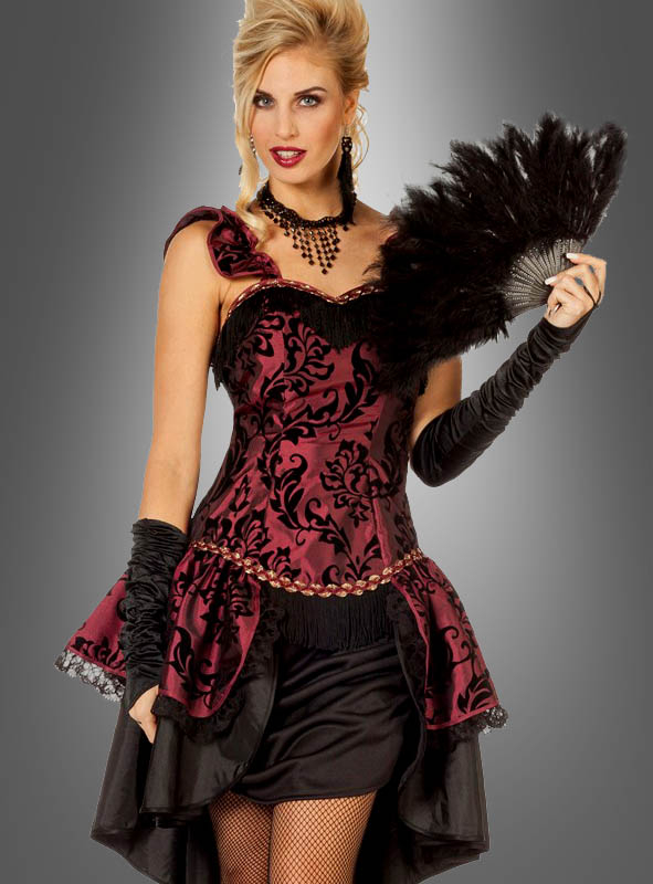 Burlesque Dress red