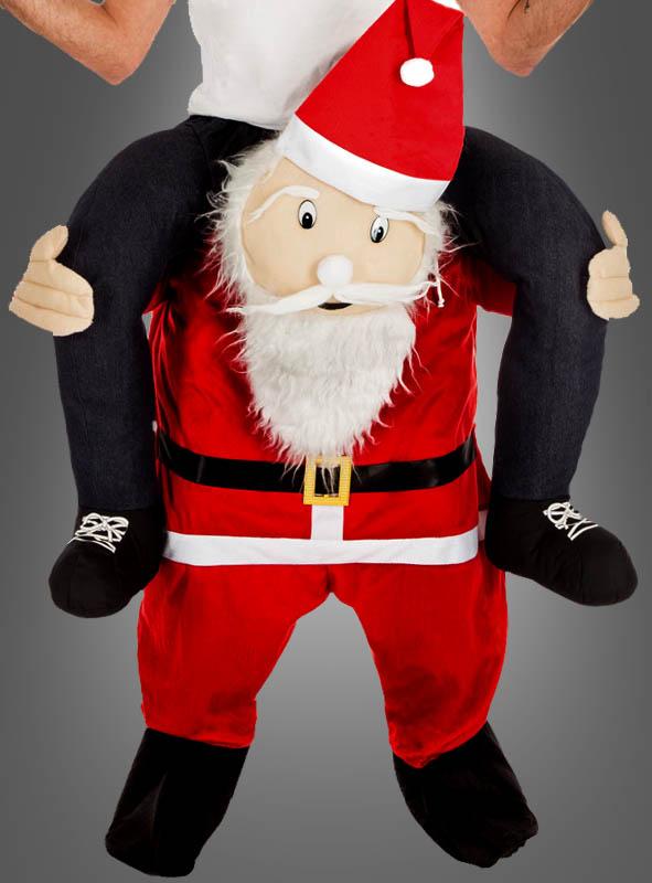 Huckepackkostüm Weihnachtsmann