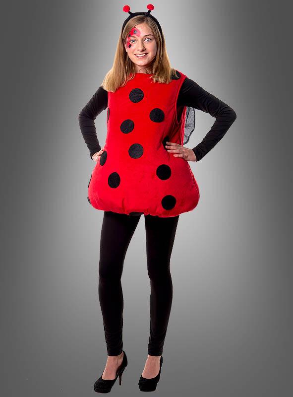 moderne Techniken verkauf uk hohe Qualitätsgarantie Plüsch Marienkäfer Kostüm