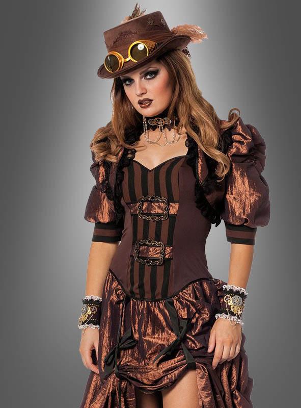 Sexy Steampunk Kleid Für Damen Bei Kostümpalast