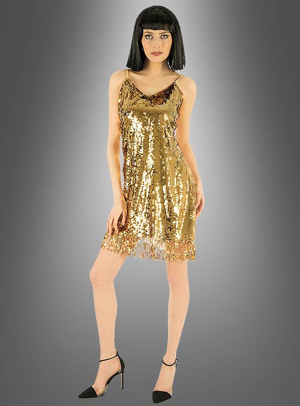 Disco Kleid gold oder silber