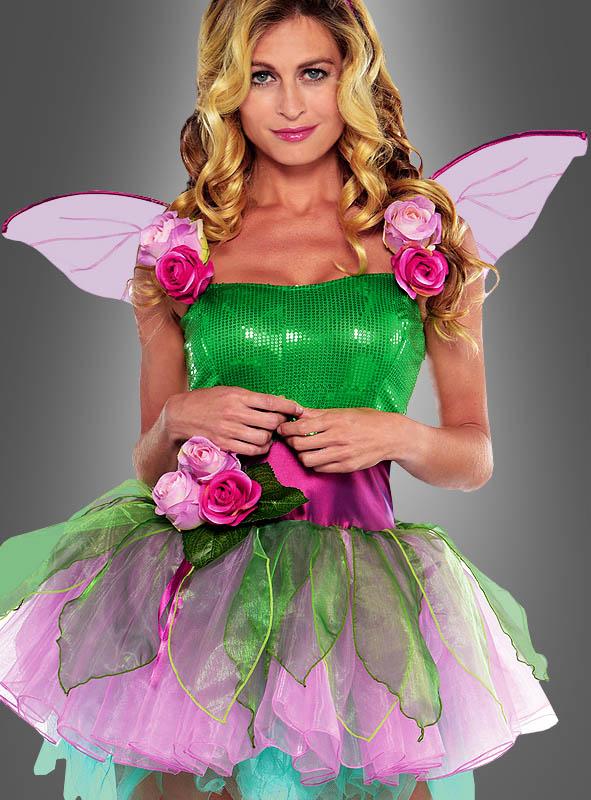 Sexy Blumenfee Kostüm