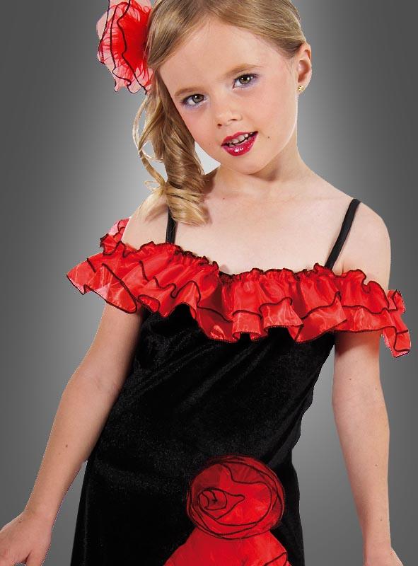 Spanierin Kostüm für Kinder
