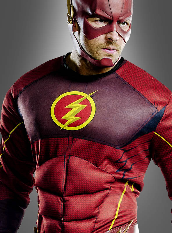 Deluxe Flash Costume for Men