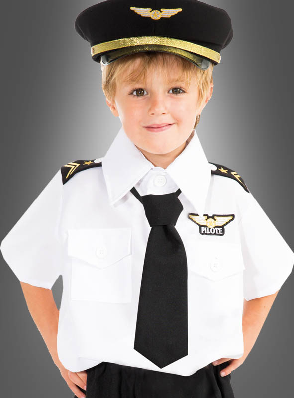 Little Pilot Children Costume