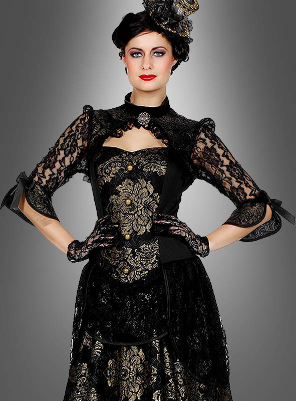Luxus Gothic Kleid