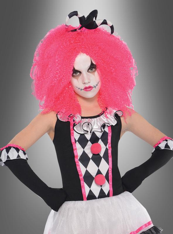 Clown Harlequin for Children pink