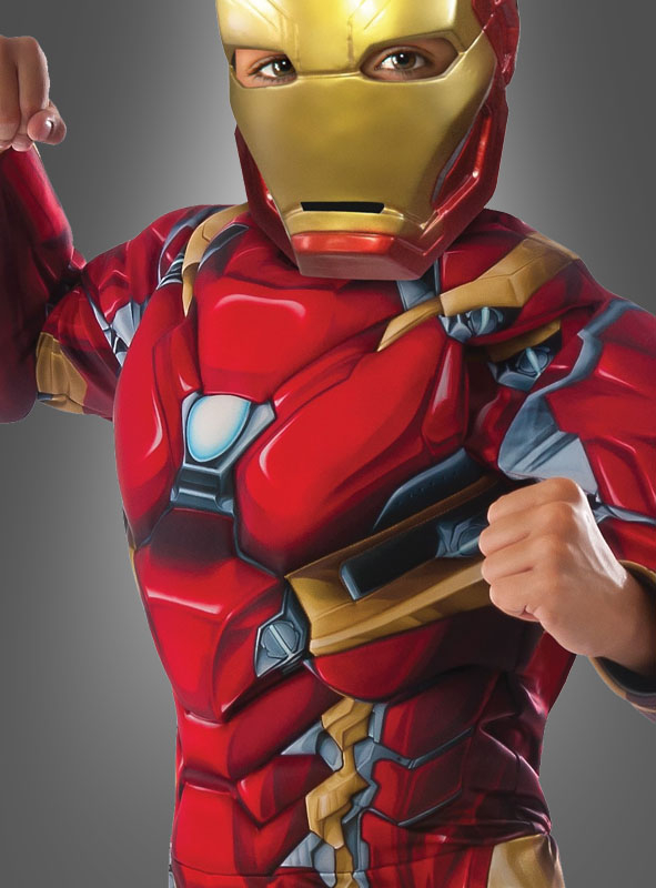 Iron Man Civil War Kinderkostüm Deluxe