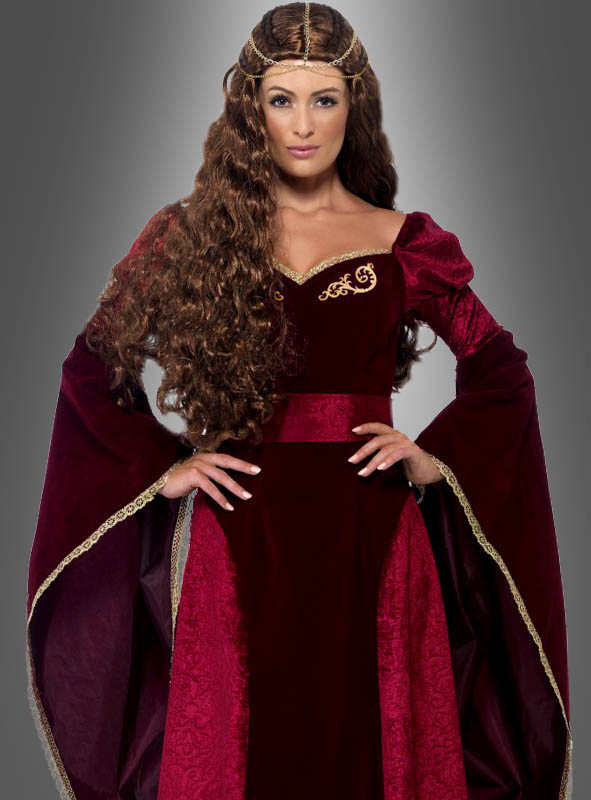 Mittelalterkleid Königin Ann