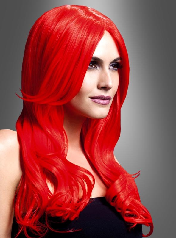 Khloe Long Hair Wig Pink or Red