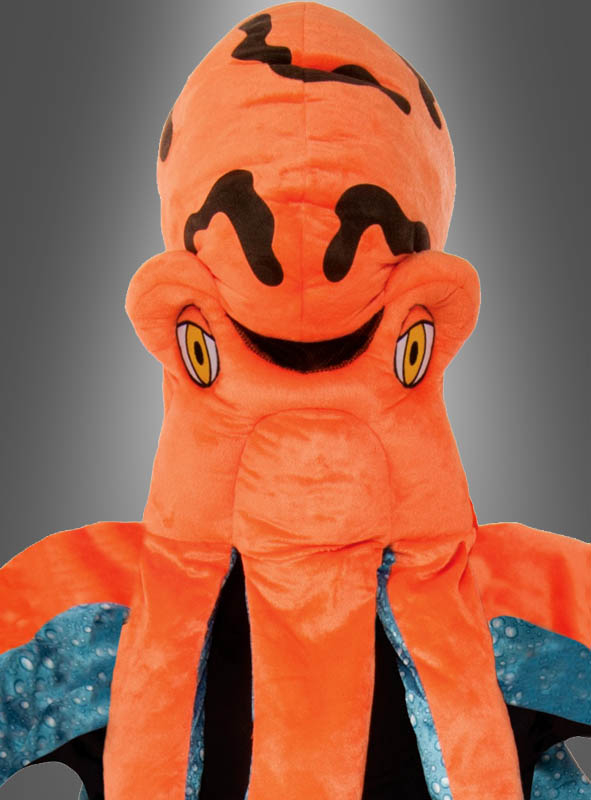 Tintenfisch Maskottchen Kostüm Octopus