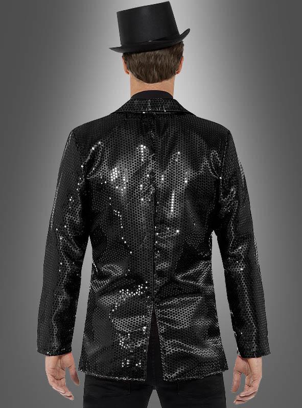 Sequin Jacket black for Men