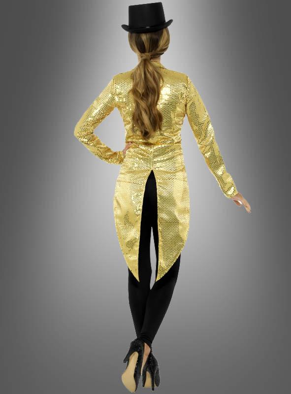 Showtime golden Tailcoat