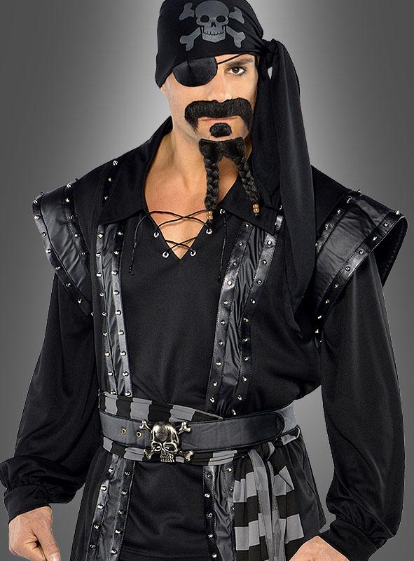 Schwarzer Pirat Captain Blackheart