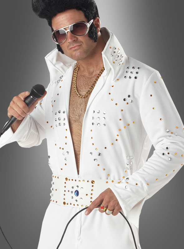 Elvis costume Adult suit white