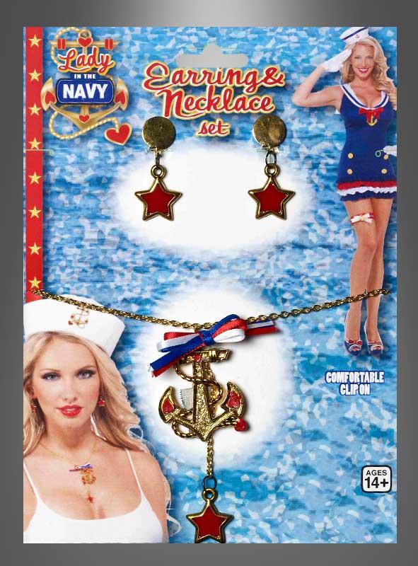 Sailor Girl Jewelry Set