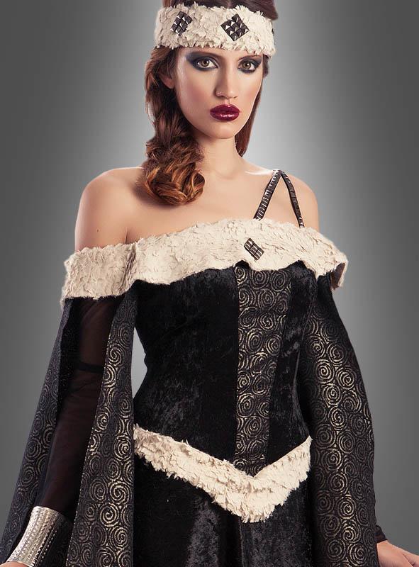 Mittelalterliches Damenkleid Edelfrau Mechthild
