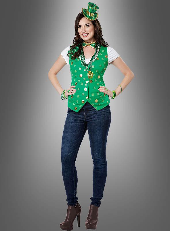 Irish Lucky Lady Costume Kit