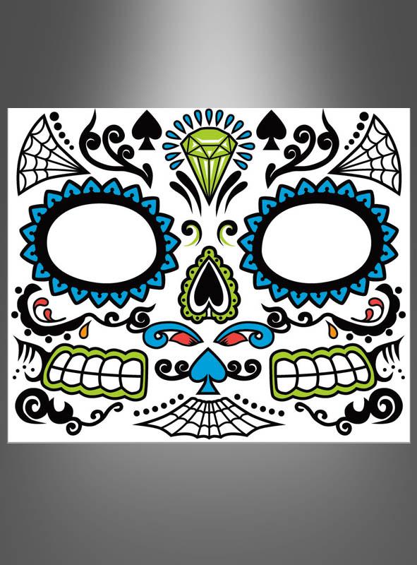 Sugar Skull Tattoo Herren