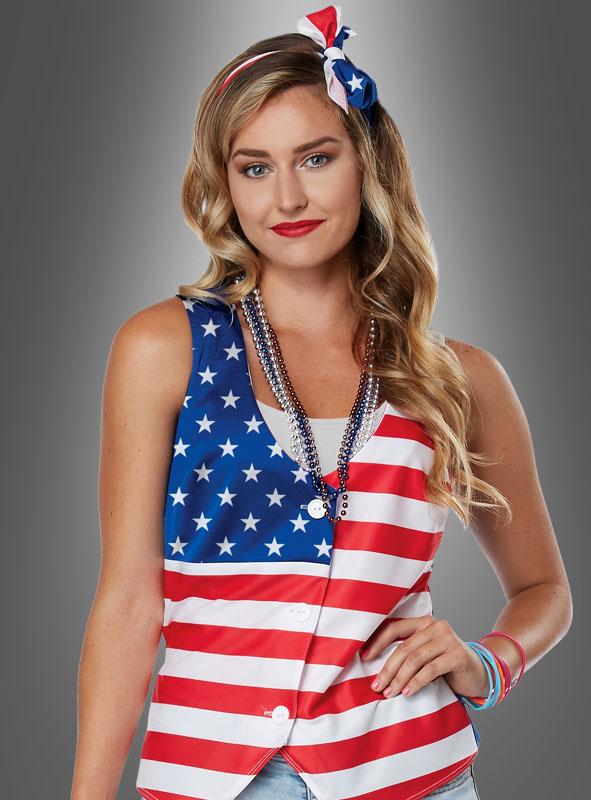 USA Kostümset für Damen