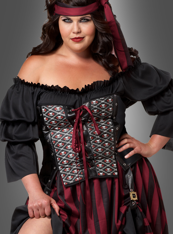 Piratin Kostüm Anne XXL