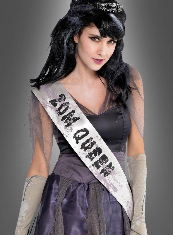 Zombie Schönheitskönigin Damenkostüm