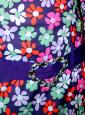Gogo Disco Blumenkleid 60er Jahre