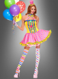 Colorful Circus Lady