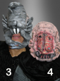 Horror Masks diff. versions